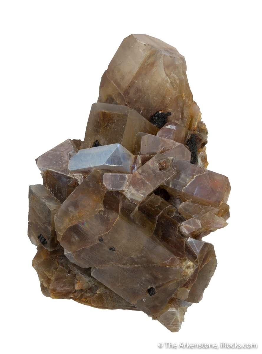 So crystallized feldspars make worthy specimens opposed matrix