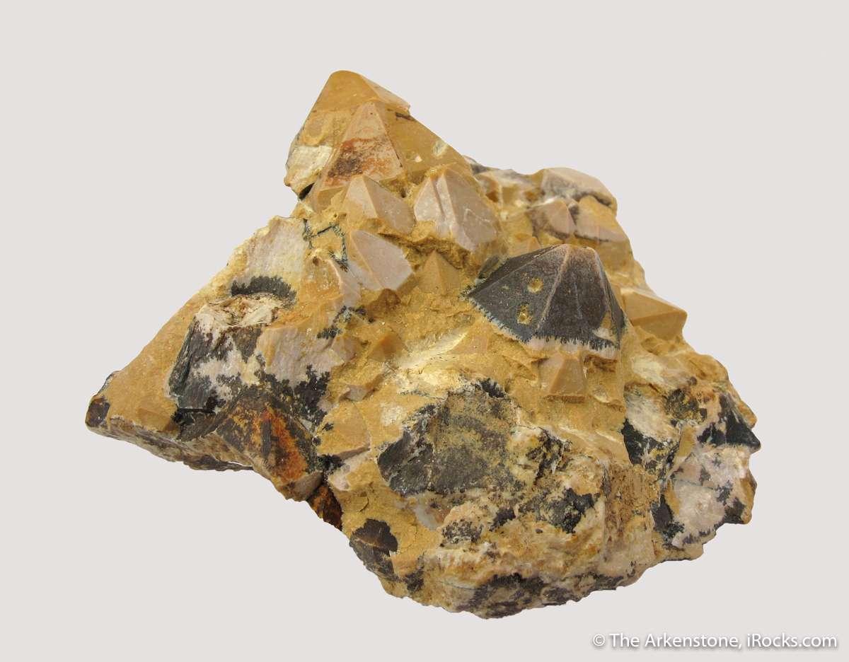 One surprising pseudomorphs imagine Talc Quartz specimens Germany The