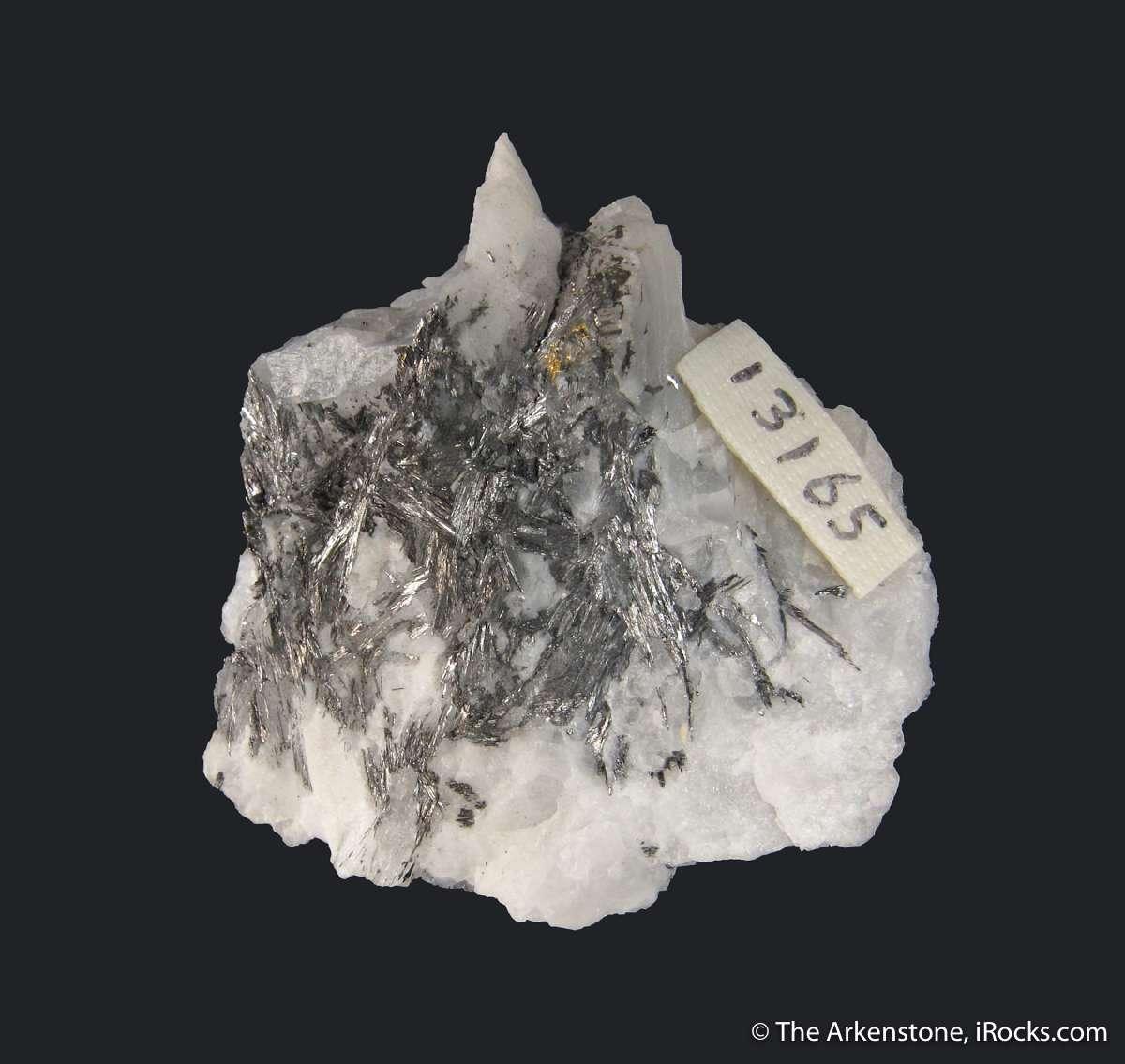 The Cariboo Gold Mine known fine specimens Cosalite uncommon Pb Bi