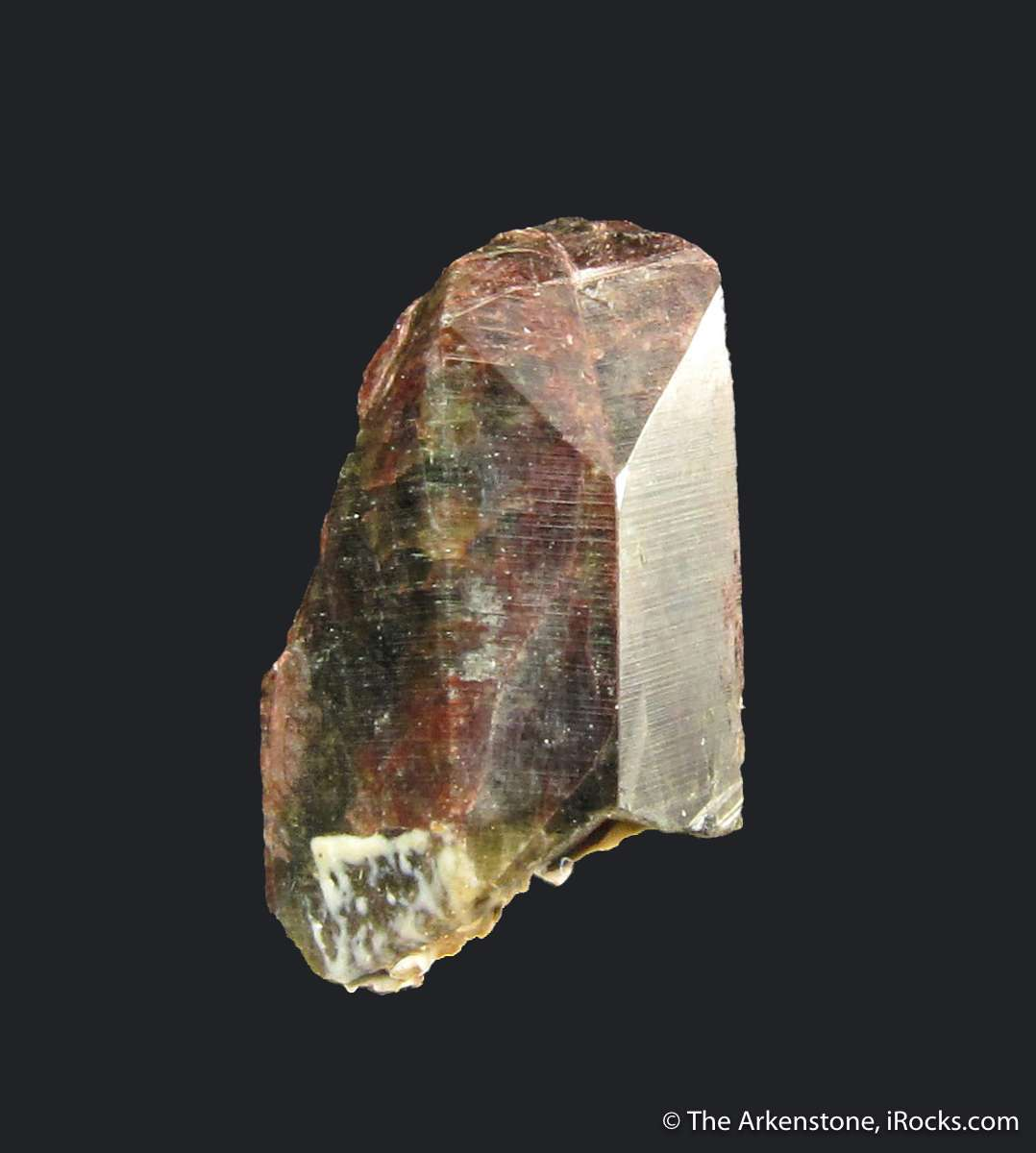 A rare scandium containing species seldom seen complete crystals The