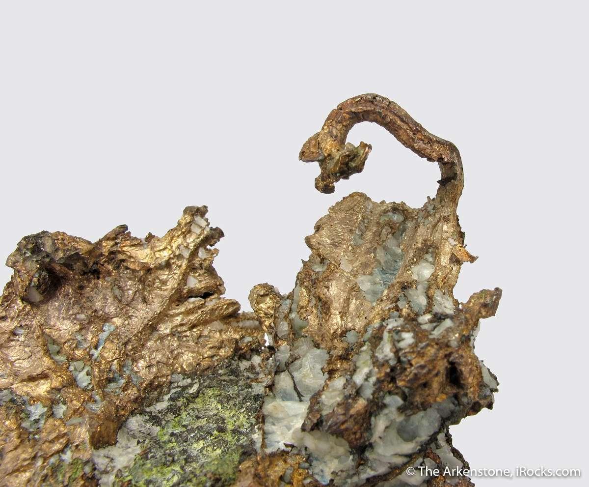 Exquisite unique wire Silver Copper combination famous Cliff Mine lot