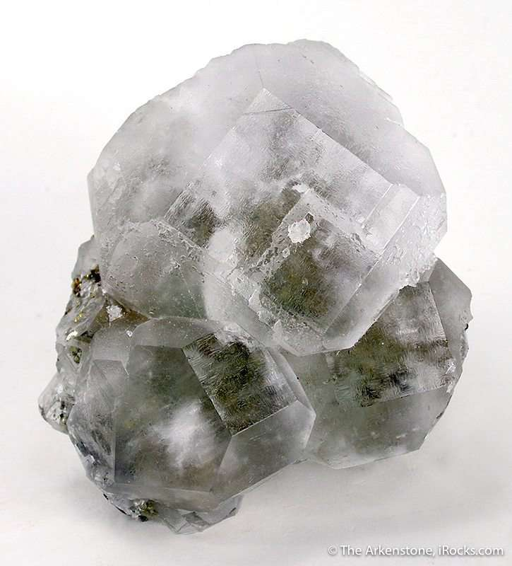 The large fluorite crystal cluster nicely centered crystals All gemmy