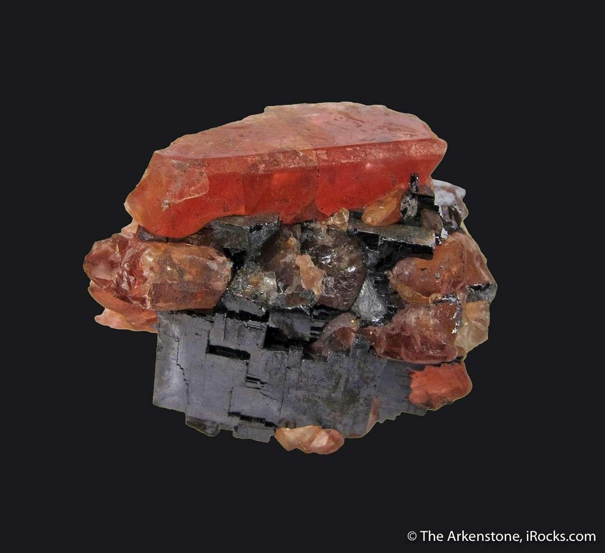 A rare aesthetic balanced thumbnail bustamite matrix This piece shows