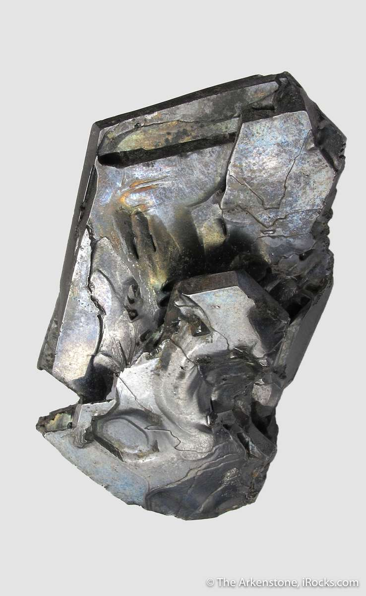 Found 1871 flattened Galena cube octahedral modifications twinning