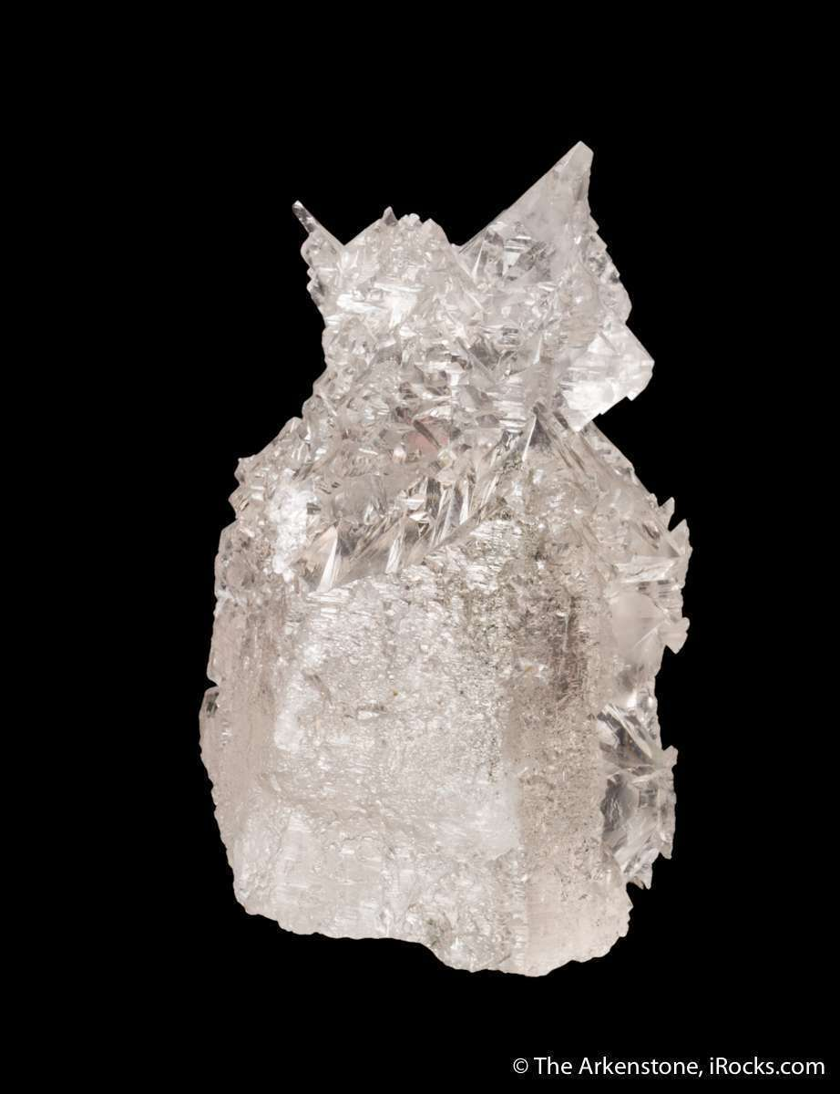 These highly unusual surreally sculpted quartz crystals formed result