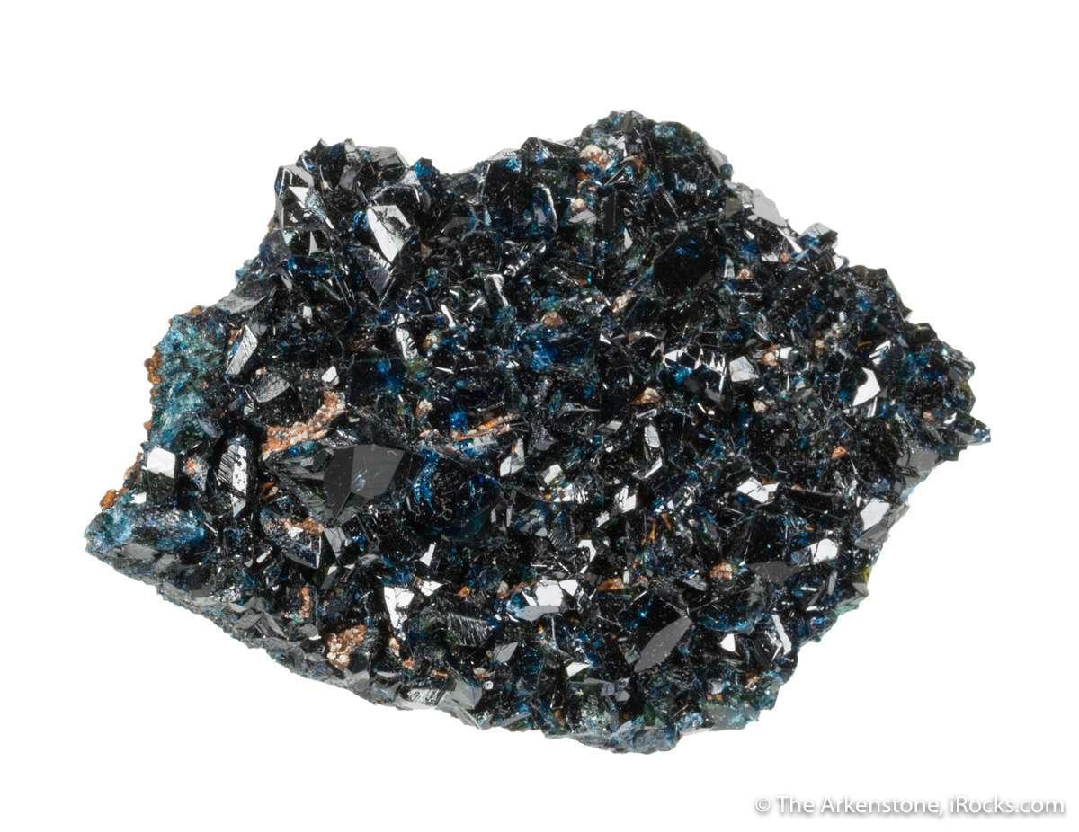 A gorgeous rich blue color superb glassy luster damage makes fine