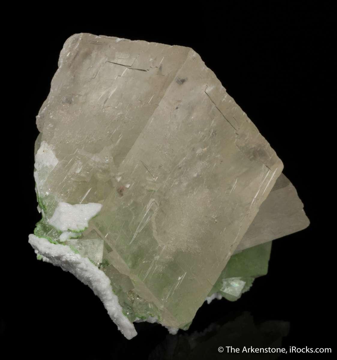 This unique Tsumeb calcite specimen collection purchased I visiting