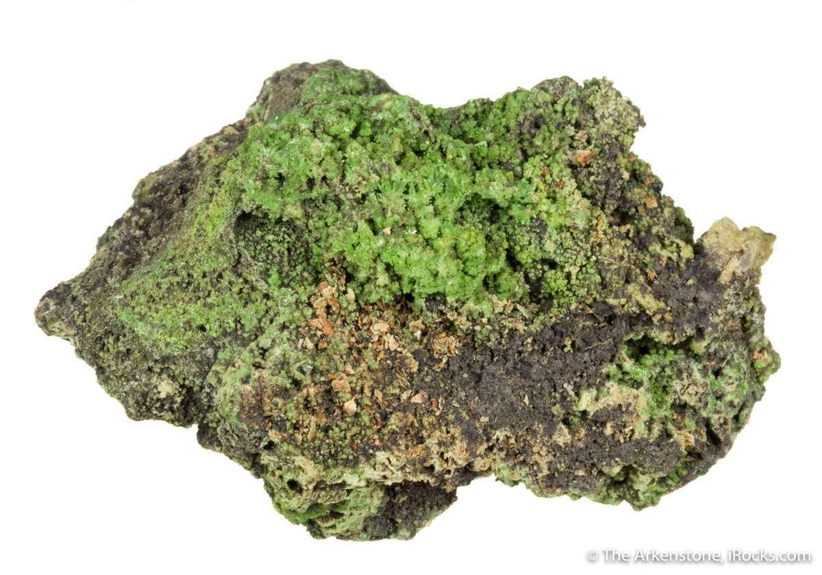 A historically important specimen pyromorphite lesser known Cornwall