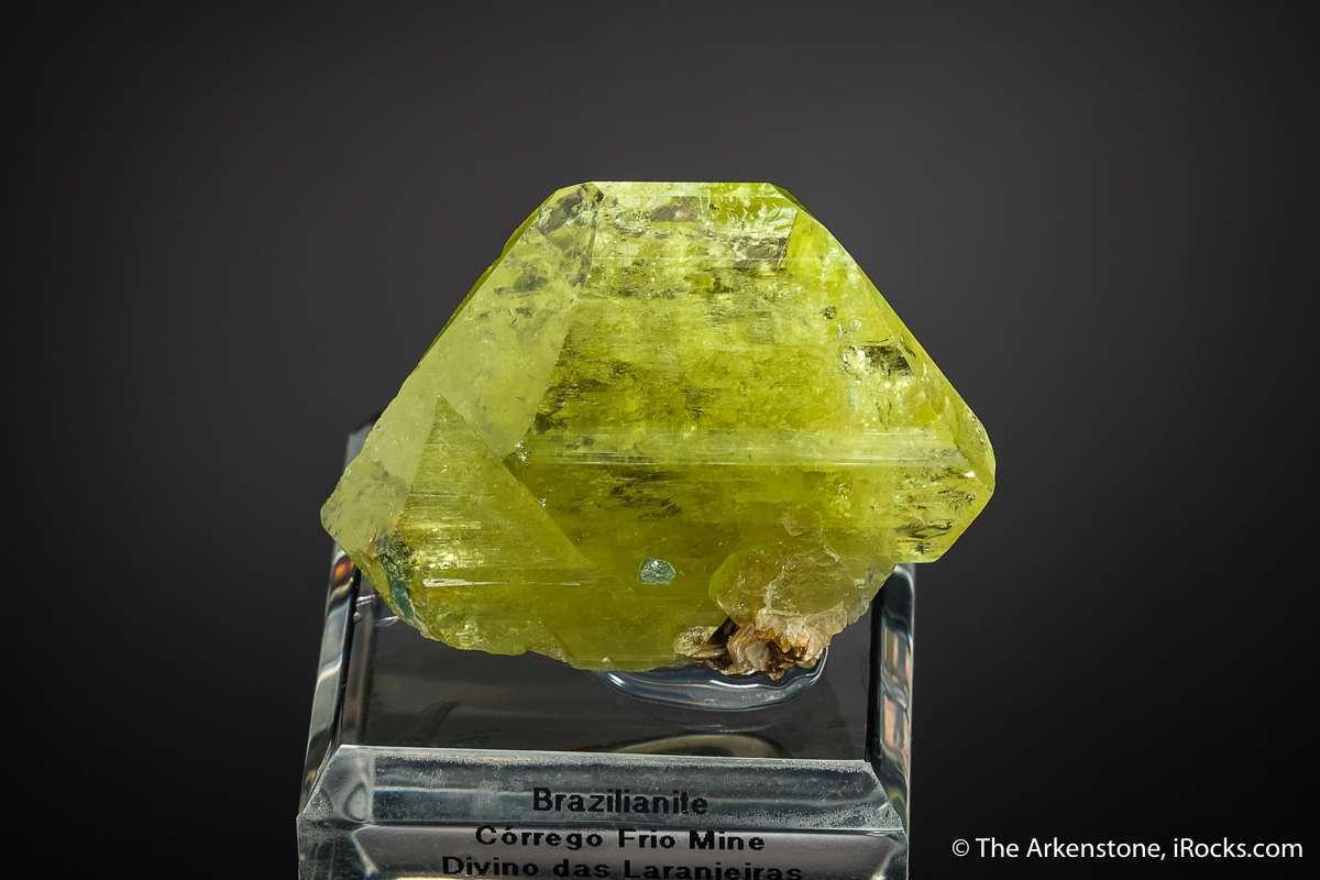 Brazilianite old 1940s finds Bancroft era gem exploration Brazil sets