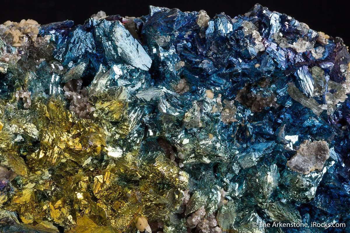 Arsenopyrite common mineral polymetallic deposits Panasquiera seldom