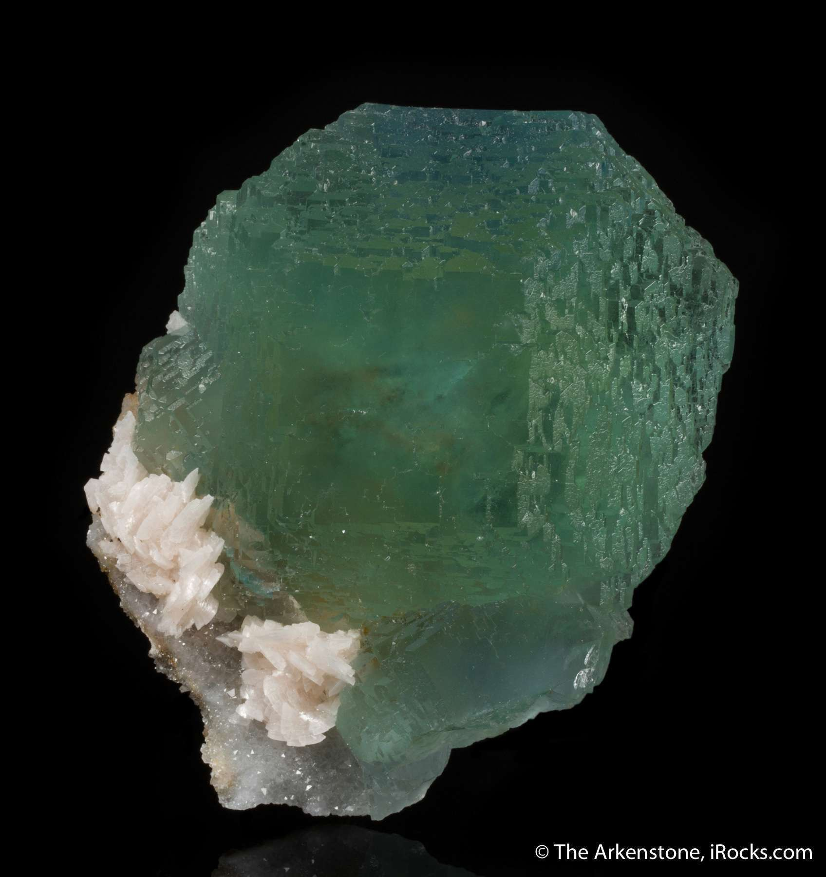 This large glowing green cuboctahedron lustrous gemmy The emerald