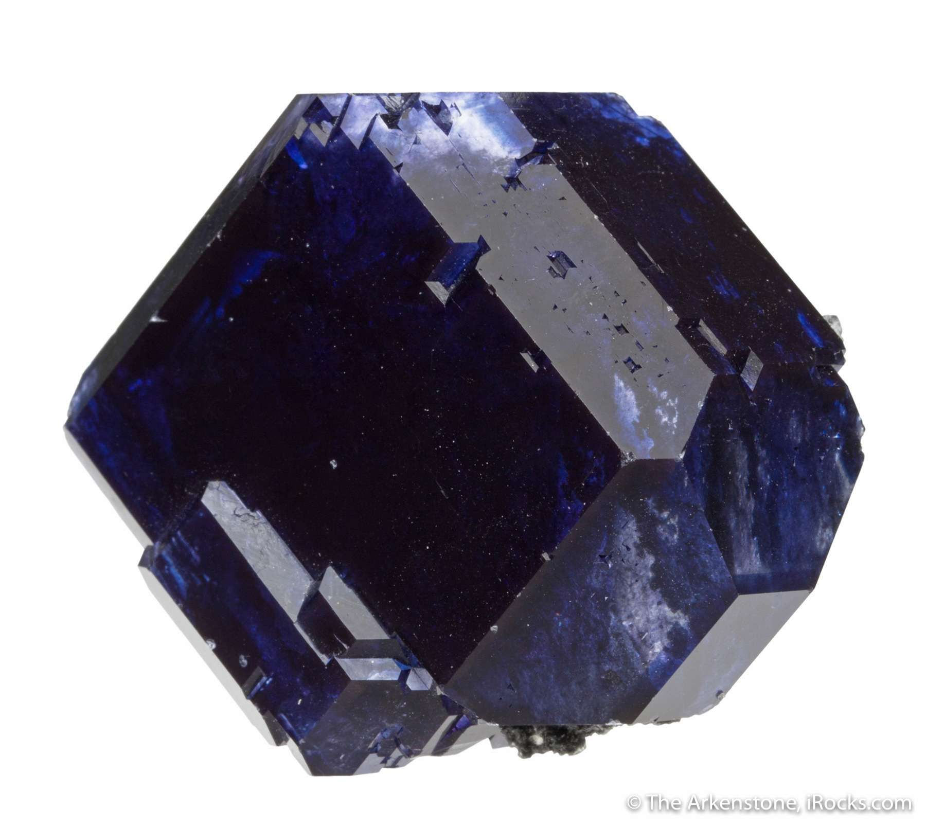 Found early 2017 tanzanite fluorite crystals Chinese called rarely got