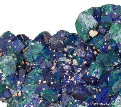 Azurite with Malachite (old classic)