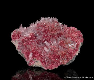 Roselite with Calcite