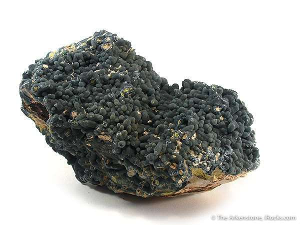 A rich specimen chock covered thick carpet plumbogummite completely