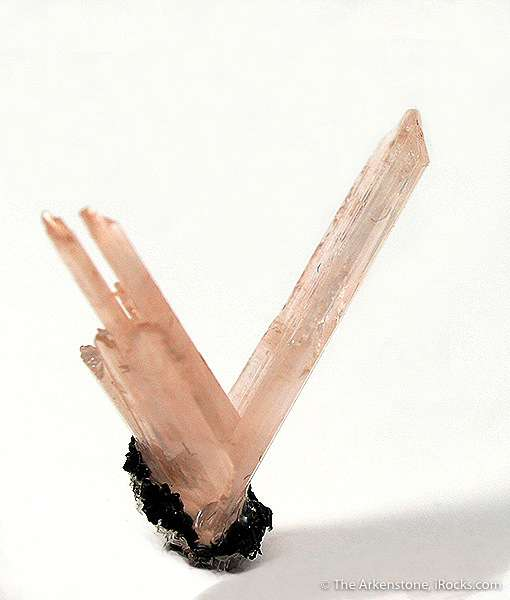 From venerable old Arizona locality super v twin cerussite small bit